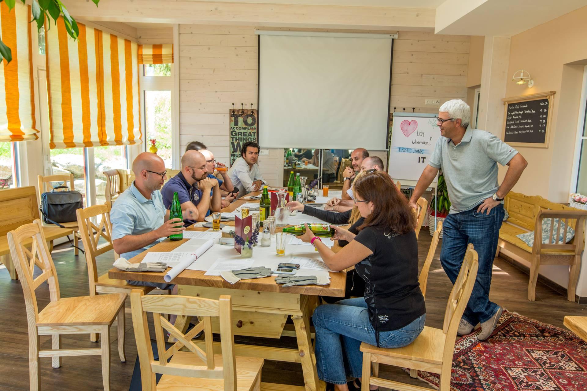 Sehr beliebt: Seminare im Grünen
